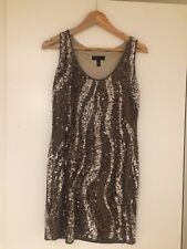 Sequin XS dress from Mango