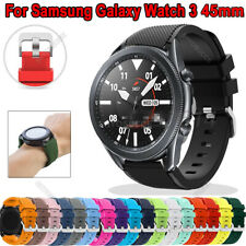 For Samsung Gear S3 2 Neo R382 Galaxy Watch 46mm Silicone Band Strap Bracelet