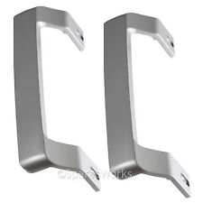 BEKO Genuine Fridge Freezer Refrigerator Silver Door Handle Handles x 2