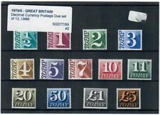 1970 - 75 POSTAGE DUE SET D77 - 89 MNH