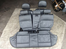 BMW E46 2001-2006 2.0 320d M47 Full black SE leather interior seats + doorcards