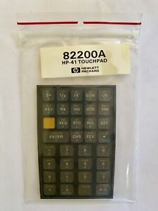 HP 82200A Keyboard Touchpad overlay for HP 41C/CV/CX Calculators RARE