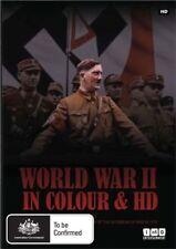 World War II In Colour & HD (DVD, 2010, 4-Disc Set), NEW SEALED REGION 4