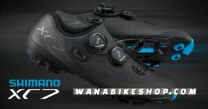 Shimano XC7 Men's Mtb Shoes Size 8.3 / 42 Black