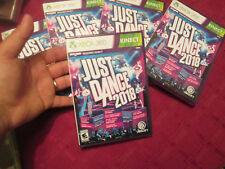 Just Dance 2018  Xbox 360 BRAND NEW FACTORY SEALED DANCING