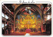 BR8913 Interieur de l eglise avec les Saint Jean de Luz  postcard  france