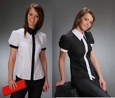 Damen-Blusen aus Polyester mit Kurzarm Damenblusen, - tops & -shirts