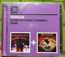 2 for 1 Ritchie Blackmore's Rainbow + Rising 2 in 1 CD NEU In Folie