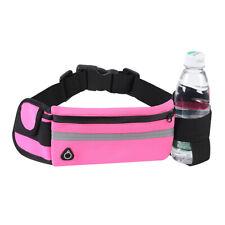 Sports Waist Bag Adjustable Waterproof Gym Running Jogging Waist Bag Zipper Bag