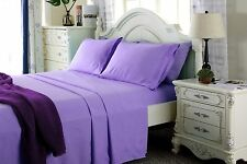 4 Piece Deep Pocket Bed Sheet Set 1800 Count Super Deluxe Quality