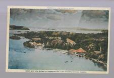 pk33931:Postcard-Birds Eye View of Bigwin Inn,Bigwin Island,Lake of Bays,Ontario