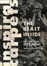 27/4/91 Pgn02 Advert: Inspiral Carpets the Beast Inside Album & Tour 15x11
