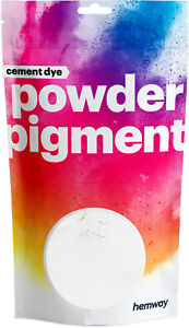 Hemway Cement Dye Pigment Concrete Mortar Colour Powder Render Mortar Pointing