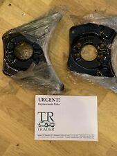 Triumph TR2 / TR3 / TR3A Spring Pans Front Lower, Used. Powder Coated
