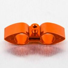 PRO-Bolt Alluminio Tubo Separatore 9 mm Arancione KTM 990 ADVENTURE 06-13 hosesep 20O