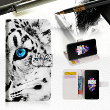 "Leopard Wallet TPU Case Cover For New 5.5"" Oneplus 5 Five-- A013"
