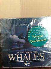 In The Company of Whales Discovery CD-ROM An Interactive Journey-NWT
