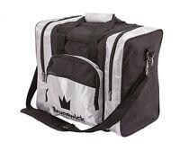 Brunswick Edge Black/Silver 1 Ball Bowling Bag