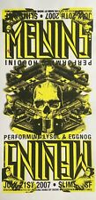The Melvins: San Francisco, 2007 Poster by Richie Goodtimes (Yellow Variant)