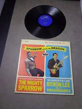 ~    SPARROW MEETS THE DRAGON---SLP-001-STEREO-record album-gatefold