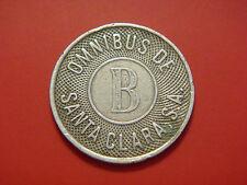 New listing Token Omnibus B Santa Clara Nickel color, Very Rare