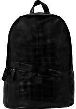 URBAN CLASSICS Zaino Borsa uomo donna Perforated Leather Imitation Backpack