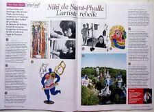 NIKI DE SAINT-PHALLE => COUPURE DE PRESSE 2 pages 2014 // FRENCH CLIPPING