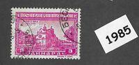 #1985 Used stamp  / Monastery  / 1943 Serbia Yugoslavia / German occupation WWII