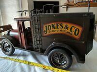 "Jones & CO We Move Everything.1990s era Moving Truck Toy Replica 24"" x 14"" x 10"""