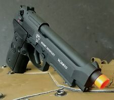 KJW CO2 blowback M9 USMC Punisher Beretta full metal airsoft full metal pistol