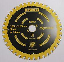 Dewalt DT10640 165X20X40T Saw Blade Circular Cordless  DCS391 DSS610 DHS680