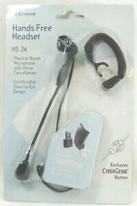 Cygnion HS24 Cybergenie hands free headset flexible boom over ear design NEW