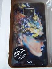 White Diamonds Sash Case for Samsung Galaxy S2 - Black colourful headHama 108686