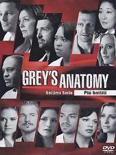COFANETTO DVD - GREY'S ANATOMY STAGIONE SERIE 7 SERIE TV - 6 DVD - Nuovo