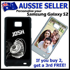 Personalised PHOTO SAMSUNG GALAXY S2 case hard cover PICTURE LOGO customised