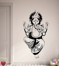 Wall Stickers Ganesha God Of Luck Arts Wisdom Gothic Religion Decor  (z2161)