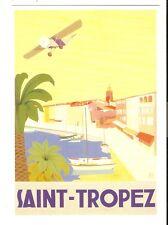 SAINT-TROPEZ   affiche 50/70 neuve(d'apès une affiche ancienne)