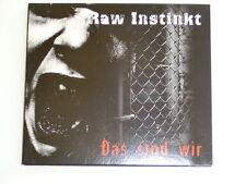 CD - Raw Instinkt - Das sind wir Oi!