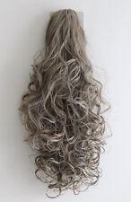 Dark Brown Blonde Clip in HAIR PIECE Ponytail Extension