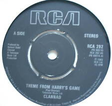 "CLANNAD - Theme From Harry's Game - Ex Con 7"" Single"