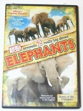 Animal Planet Elephants DVD.  Africa's Elephant Kingdom, Queen Of The Elephants.