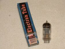 1 x 12AT7/ECC81 Mullard Tube *Very Strong & Balanced*NOS*NIB*