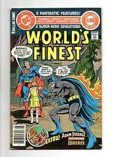 World's Finest Comics No 262 May 1980 (VFN) DC Comics, 68 Page Dollar Comic