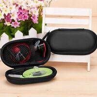 1pc Protection Carrying Hard Headphone Large Case Earphone Black Bag Storage Box
