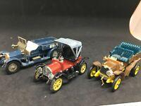 RIO Ziss Matchbox 1/43 Opel , crossley , Fiat  lot 3 modéles