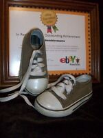 (USED) FADED GLORY KIDS SIZE 7 CANVAS SHOES TODDLERS