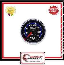 "AutoMeter 2-1/16"" Cobalt Analog Boost Pressure Gauge 0-35 PSI * 6104 *"