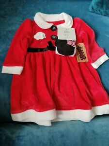 Baby Girl Christmas Outfit 3-6 Months