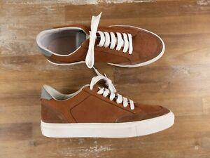 BRUNELLO CUCINELLI suede tobacco brown low sneakers 11.5 US / 44.5 EU / 10.5 UK