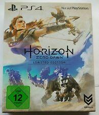 Horizon Zero Dawn Limited Edition Steelbook + Artbook PS4 Playstation 4 NEU NEW